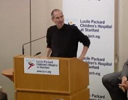 Steve Jobs Talks about Liver Transplant