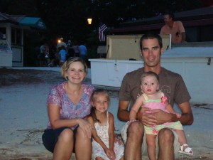 Kenneth and Jennifer Todd with their daughters