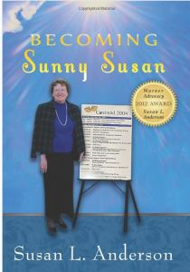 Susan Anderson's Book, Becoming Sunny Susan