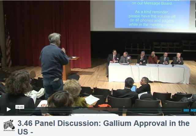 3rd Theranostics World Congress, Panel Discussion on Gallium Approval in the United States