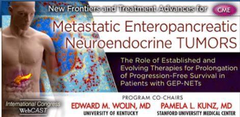 CME Metastatic Enteropancreatic Neuroendocrine Tumors