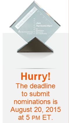 Warner Advocacy Award 2015_Deadline for Submissions