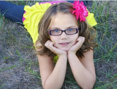 Eight-year-old carcinoid survivor, Emily