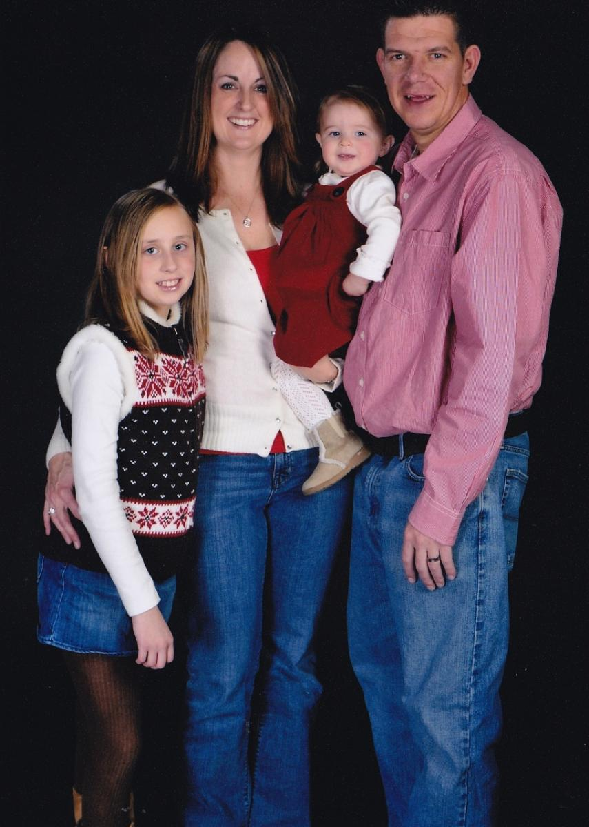 Toby Plank and Family