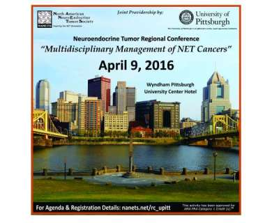 NANETS Regional Conference, Pittsburgh, PA, April 9, 2016