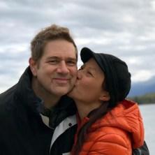 Tom Bajoras and his wife, Lisa Yen