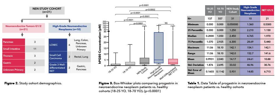 Progastrin Study, Blood-Based Biomarker for Detection of NENs