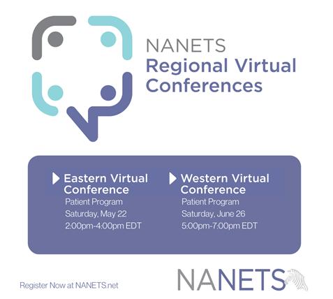 NANETS Patient Virtual Conferences