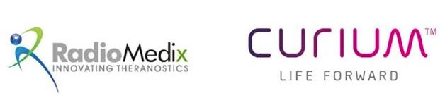 RadioMedix & Curium logos