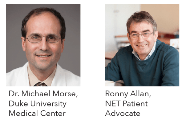Dr. Michael Morse and Ronny Allan