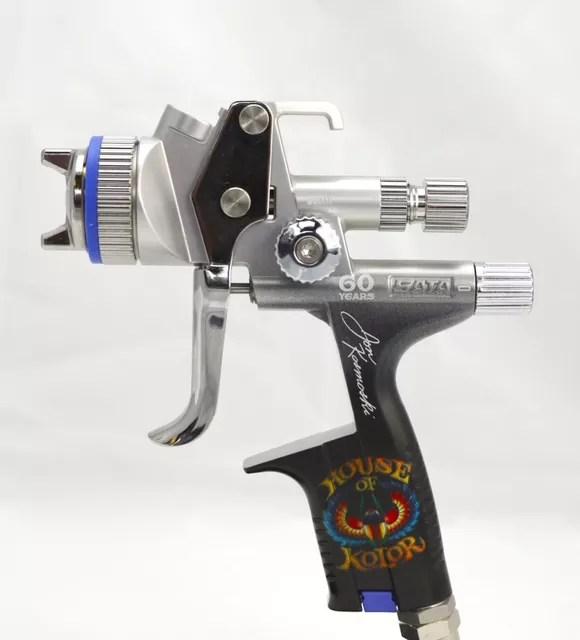 SATAjet 5000 B HVLP Professional Gravity Spraygun Car