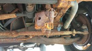 2003 Dodge Ram Van 1500 Rusted From Frame To Steering Linkage: 1 Complaints