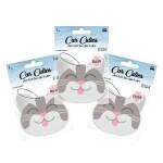 rose car air freshener 3 pack