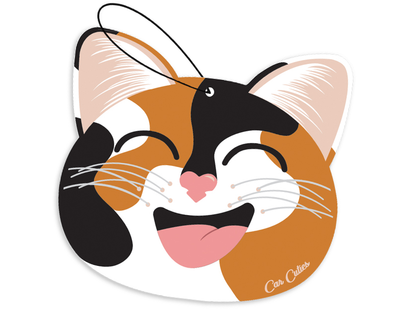 Calico Cat Car Cuties