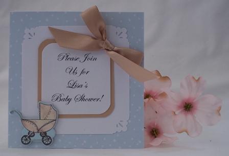 Homemade Baby Shower Invitations Make