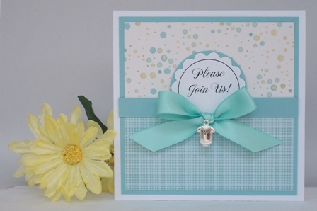 Baby Shower Invitation Template Cute