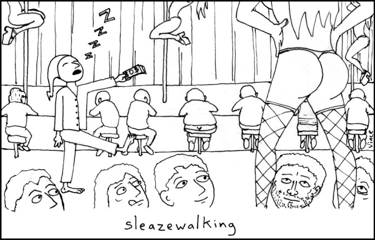 Sleazewalking
