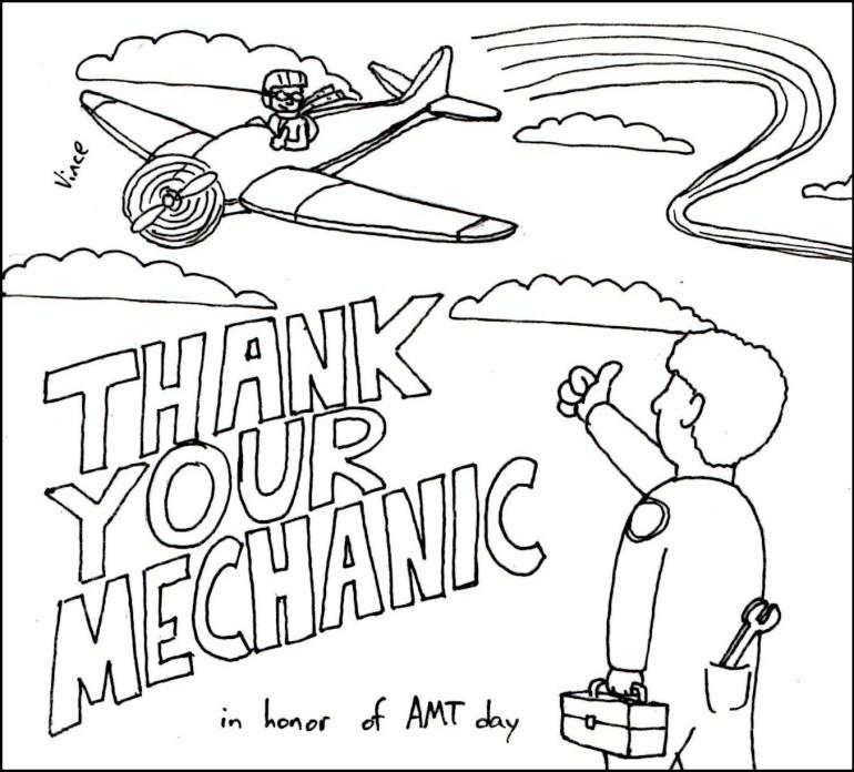 Aircraft Mechanic Technician (AMT) Appreciation Day