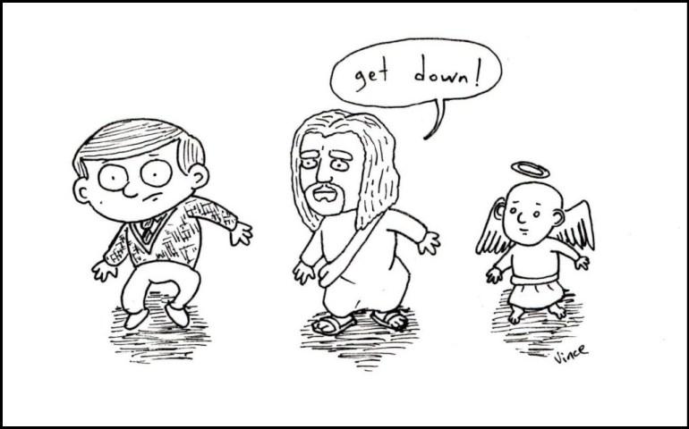 Jesus | Cardboard Robots | Vince Bigos