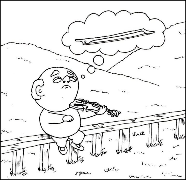 violin no bow