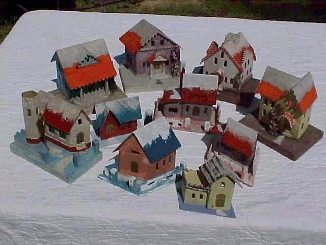 lowes christmas village houses