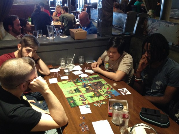 Even with all of the combined board gaming experience at this table, the darn kobolds STILL beat us.