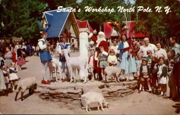 Santa And His Helpers North Pole NY