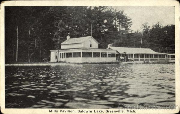Mills Pavilion Baldwin Lake Greenville MI