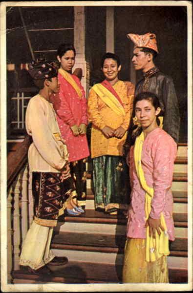Pakaian Adat Pontianak Kalimantan Barat Other Ethnic