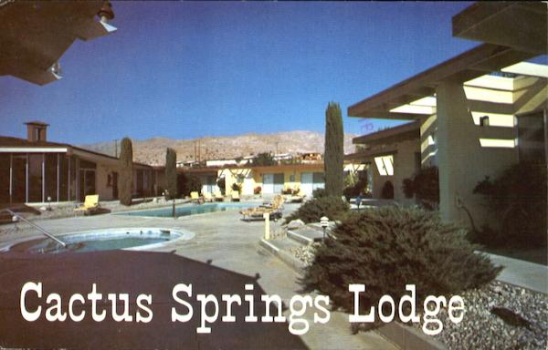 Cactus Springs Lodge 68075 Club Cirlce Drive Desert Hot