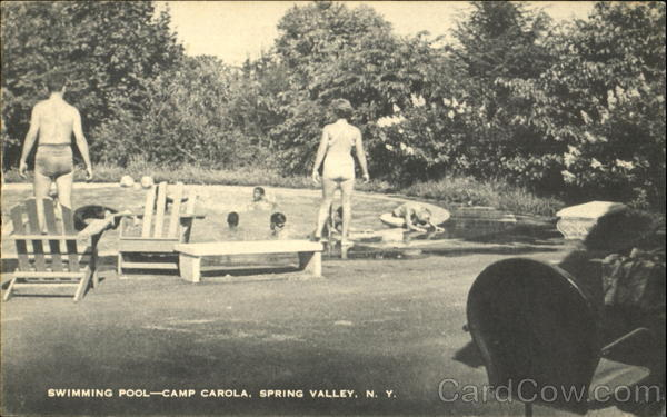 Swimming Pool Camp Carola Spring Valley NY