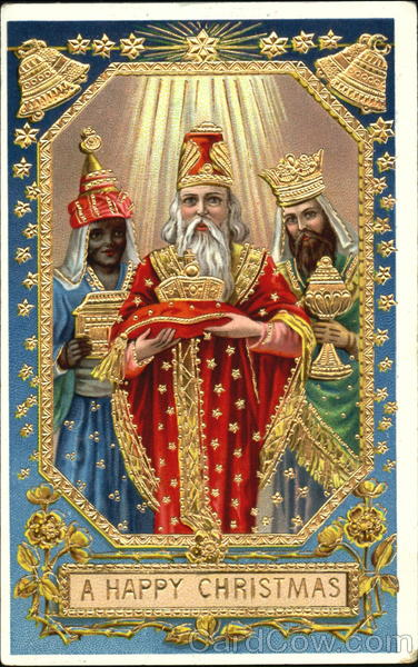 A Happy Christmas Nativity Three Kings