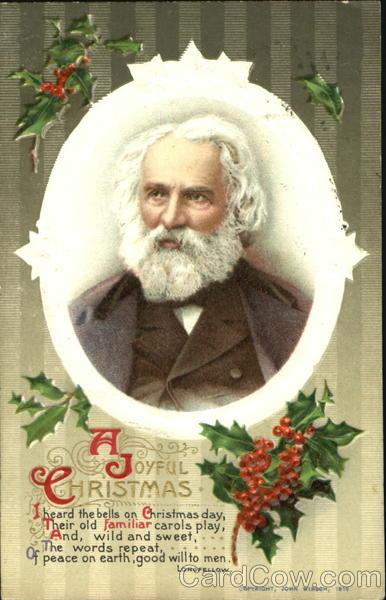 Henry Wadsworth Longfellow A Joyful Christmas Poems Amp Poets