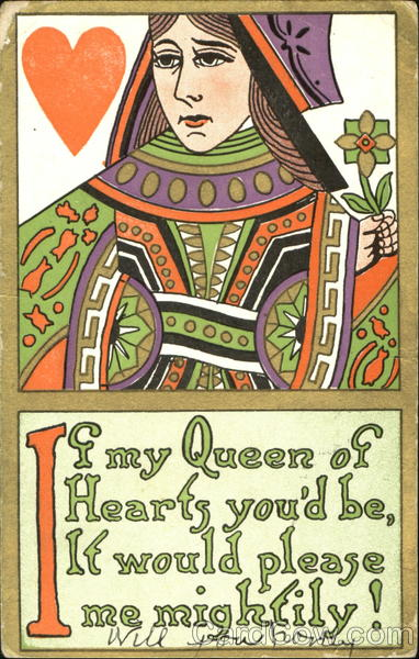 Be My Queen Of Hearts Card Games