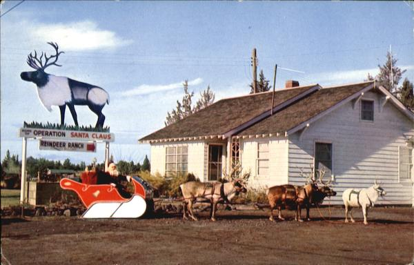 Operation Santa Claus Reindeer Ranch Redmond OR
