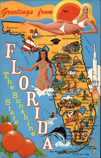 The Sunshine State Maps