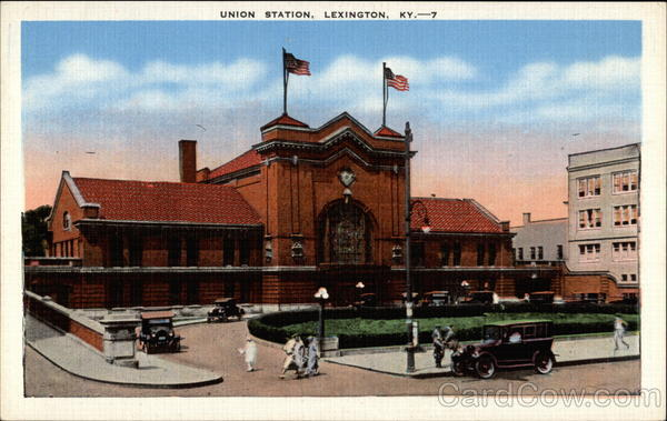 Union Station Lexington Kentucky