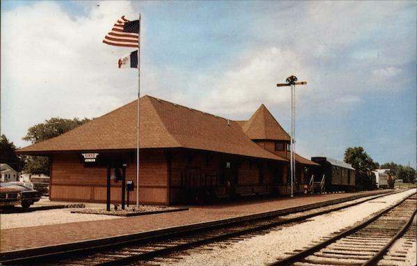 Boone Amp Scenic Valley Railroad Depot Iowa
