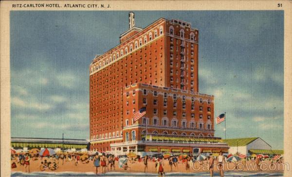 Ritz Carlton Hotel Atlantic City NJ