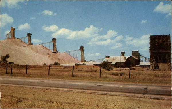 One Of The Lead An Zinc Mines Near Duenweg Webb City
