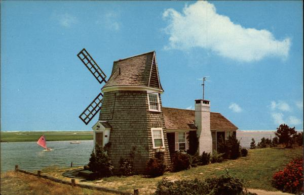 Windmill House on Bass River S Yarmouth MA