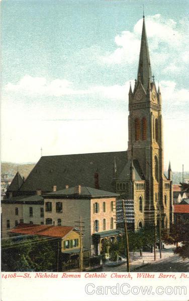 St Nicholas Roman Catholic Church Wilkes Barre PA