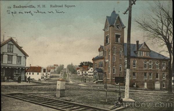 Railroad Square Sanbornville Nh