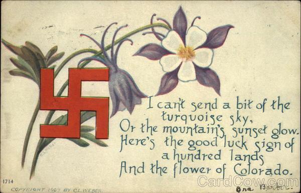 The Flower Of Colorado With Swastika Swastikas