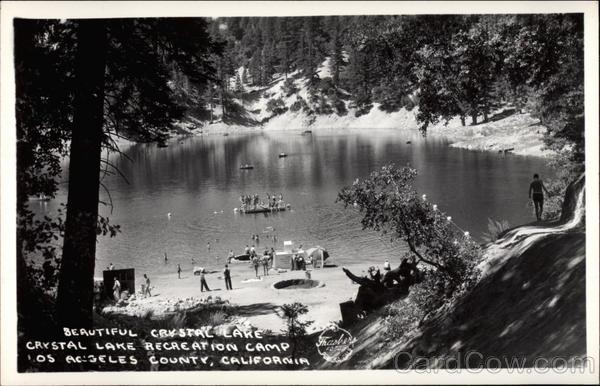 Beautiful Crystal Lake Crystal Lake Recreation Camp Los
