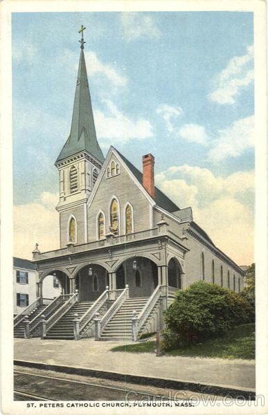 St Peters Catholic Church Plymouth MA