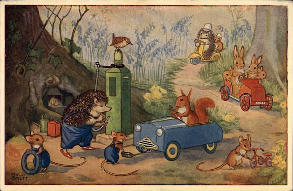 Woodland Garage By Molly Brett Dressed Animals
