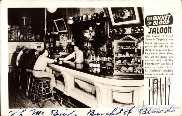 The Bucket Of Blood Saloon Virginia City NV