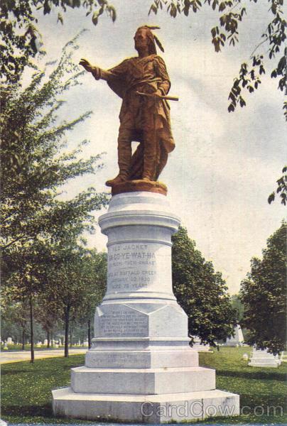 Red Jacket Statue Buffalo, NY