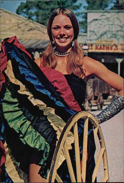 Six Gun Territory Dancing Girl Silver Springs FL